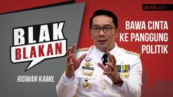 Blak blakan Ridwan Kamil: Bawa Cinta ke Panggung Politik