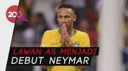 Jadi Kapten, Neymar Yakin Mendulang Kejayaan Brasil