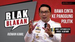 Tonton Blak blakan Ridwan Kamil, Bawa Cinta ke Panggung Politik