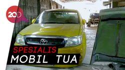 Gokil! di Bengkel Ini Mobil Tua Bisa Disulap Jadi Gaul