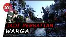 Saat Risma Ikut Bersih-bersih Jalan Pakai Semprotan Air