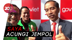 Ucapan Selamat Jokowi atas Peluncuran Go-Viet