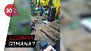 Viral Video Warga Gelar Kondangan di Kuburan