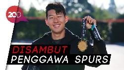 Tiba di Tottenham, Son Heung-min Pamer Medali Emas Asian Games