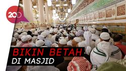 Meski Terik, Ini Rahasia Masjid Nabawi Tetap Sejuk!