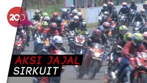 Parade Riders Honda Panaskan Aspal Sentul
