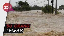 Jejak Amukan Badai Mangkhut di Filipina
