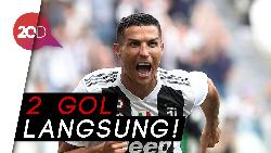Pecah Telur! Akhirnya Ronaldo Cetak Gol