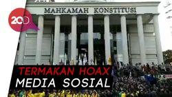 Ungkapan Hati Korban Hoax Rusuh Demo di MK