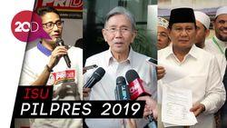 Politikus PDIP Kwik Kian Gie Bahas Ekonomi Bareng Prabowo-Sandi
