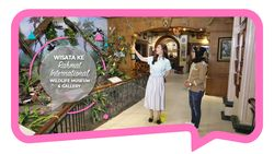 Wisata ke Rahmat International Wildlife Museum & Gallery