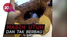 Bikin Heboh! 3 Jasad Sekeluarga di Ciamis Masih Utuh Saat Digali