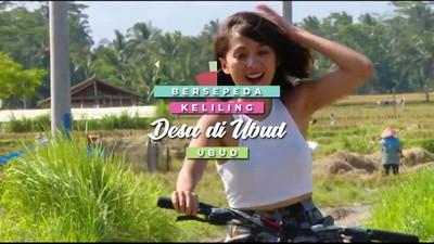 Bersepeda Keliling Desa di Ubud