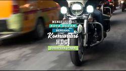 Serunya Menghabiskan Sore dengan Komunitas Motor Besar di Sumatera Utara