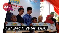 Anies Bakal Intensifkan Program Membaca di Kampung-kampung