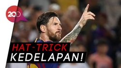 Keganasan Messi Bungkam PSV