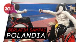 Perdana, Cabor Anggar Tampil di Asian Para Games