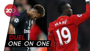 Saat Neymar Dipermalukan Sadio Mane