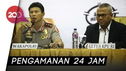 452 Polisi Siap Kawal Jokowi-Maruf dan Prabowo-Sandi Kampanye