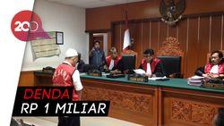Bandar Sabu Cair Diskotek MG Divonis 19 Tahun Bui!