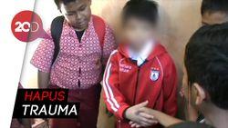 Bocah Korban Penyekapan di Makassar Akhirnya Bisa Sekolah Lagi