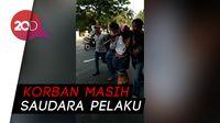 Dua Jambret Ini Diarak Warga ke Kantor Polisi