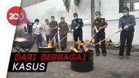 Kejari Tanjung Perak Musnahkan Barang Bukti Kasus Judi Hingga Narkotika