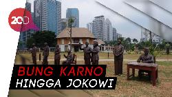 Keren! 7 Patung Presiden Indonesia Hiasi Hutan Kota GBK