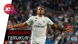 Lengkungan Indah Si Nomor 7 Baru Madrid, Mariano Diaz