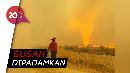 Momen Langka Tornado Api di Kanada