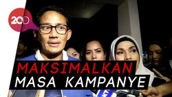 Pasca Penetapan KPU, Sandiaga: Wow Sesuatu Banget!