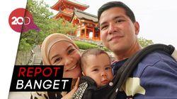 Serunya Haykal Kamil Liburan ke Jepang Bawa Anak