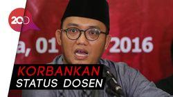 Dahnil Anzar, Mundur dari PNS Demi Prabowo