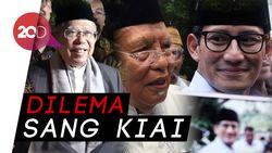 Dilema Kiai Syukron, Antara Maruf Amin dan Sandiaga