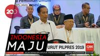 Jokowi: Alhamdulillah Nomor 1