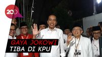 Jokowi soal Nomor Urut: Satu Baik, Dua Juga Baik
