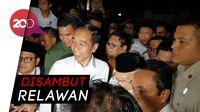 Kedatangan Jokowi-Maruf di Tugu Proklamasi Disambut Meriah