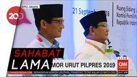 Momen Jokowi Sebut Prabowo dan Sandiaga Sahabat Lama