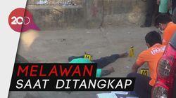 Polisi Tembak Mati Kapten Begal di Makassar