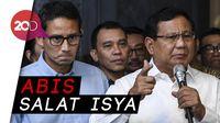 Prabowo-Sandi akan Datang Sebelum Jokowi ke KPU