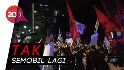 Pulang dari KPU, Jokowi-Maruf Pisah Jalan