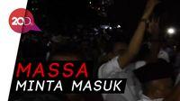 Relawan Prabowo-Sandiaga Memanas Karena Tak Bisa Masuk KPU