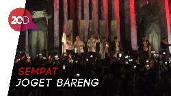 Sebelum ke KPU, Jokowi Temui Relawan di Tugu Proklamasi