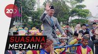 Sertijab Walkot Bandung, Ridwan Kamil dan Sepedanya Diarak