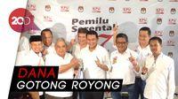 Dana Awal Kampanye Jokowi-Maruf Rp 11,9 Miliar
