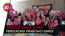 Emak-emak Banyuwangi Bikin PEPES, Dukung Prabowo-Sandi