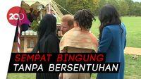 Momen Awkward Pangeran Harry Cipika-cipiki Wanita Muslim