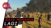 Demonstran Palestina Vs Tentara Israel, 1 Tewas 300 Luka-luka