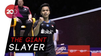 Detik-detik Anthony Ginting Juara China Open 2018