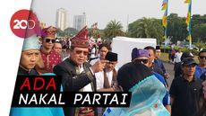 Kata Prabowo Soal SBY Walk Out Deklarasi Kampanye Damai